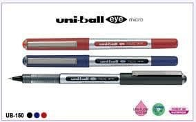12 x UNI-BALL EYE UB-150 MICRO 0.5mm TIP ROLLERBALL PEN by Colour or Mixed Set