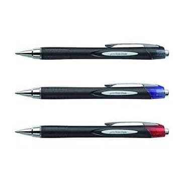 12 x UNI-BALL JETSTREAM SXN-210 PREMIUM RETRACTABLE ROLLERBALL PEN.