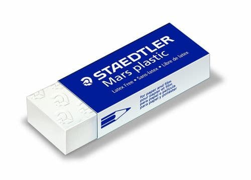 5 x STAEDTLER MARS ERASER PLASTIC RUBBER ERASERS