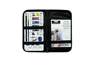 ARTISTS ACRYLIC PAINT KEEP N'' CARRY ART SET BY ROYAL & LANGNICKEL