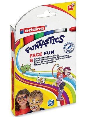 EDDING FUNTASTICS ''FACE FUN'' FACE PAINT