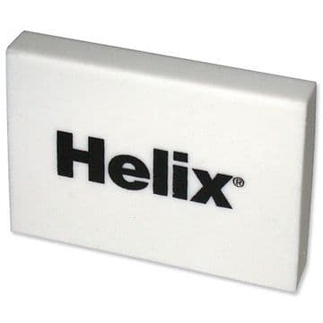 "HELIX JUMBO PLASTIC RUBBER ERASERS - like STAEDTLER MARS ""Pack of 4"""