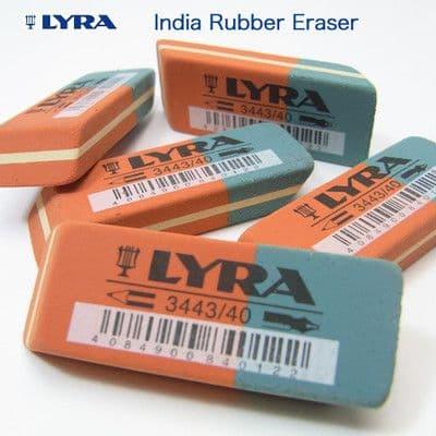 LYRA INK RUBBER ERASER - INDIA INK & PENCIL ERASER GERMAN MADE Pack of 1
