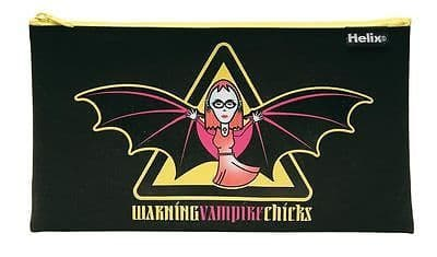 PENCIL CASE  VAMPIRE CHICKS DESIGN by Helix Maped