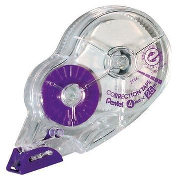 PENTEL 25M DISPOSABLE CORRECTION TAPE (4.2mm X 25m)
