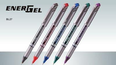 PENTEL ENERGEL BL27 GEL ROLLERBALL PEN 0.7mm Tip