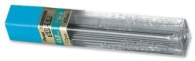 "PENTEL SUPER MECHANICAL PENCIL REFILL LEADS 0.7mm 2B ""Box of 144 Leads"""
