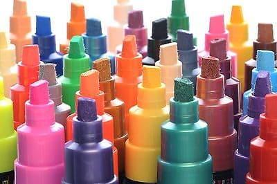 """POSCA MARKER PEN PC-8K """"FULL RANGE 33 Pen Set - All Colours"""""""