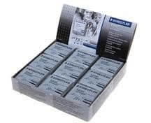 STAEDTLER ARTISTS ART KNEADABLE PUTTY RUBBER ERASERS Box of 18