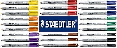 STAEDTLER LUMOCOLOR 315 PEN NON-PERMANENT MARKER DVD CD GLASS PLASTIC