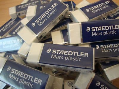 STAEDTLER MARS PLASTIC RUBBER ERASER Box of 20