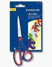 STAEDTLER NORIS CLUB LARGE 17cm CHILDREN KIDS SAFETY ART & CRAFT SCISSORS
