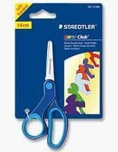 STAEDTLER NORIS CLUB LEFT HANDED CHILDREN KIDS SAFETY ART & CRAFT HOBBY SCISSORS