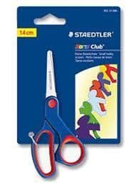 STAEDTLER NORIS CLUB RIGHT HANDED CHILDREN KIDS SAFETY ART & CRAFT SCISSORS
