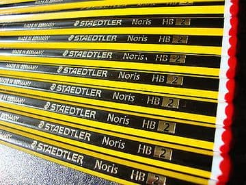 STAEDTLER NORIS NORRIS PENCILS BOXED HB [BUY 4 BOXES GET a 5th BOX FREE]