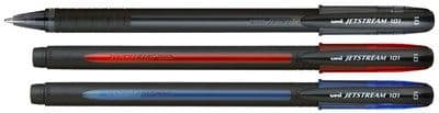 UNI-BALL JETSTREAM SX-101 ROLLERBALL PEN - Single Pen by Colour