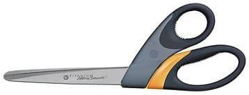"""WESTCOTT TITANIUM LARGE SOFT GRIP DRESSMAKERS FABRIC SCISSORS 23cm - 9"""""""