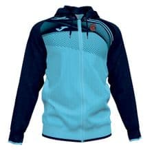 8th Old Boys Supernova 2 Full Zip Hoodie Turquoise Flour/Dark Navy