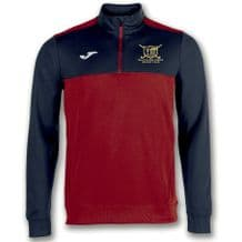 Ballyclare Hockey Club Winner 1/2 Half Zip Red/Navy - Youth 2018