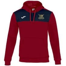 Ballyclare Hockey Club Winner Hoodie Red/Navy - Youth 2018