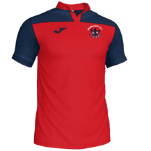 Derriaghy Cricket Club Joma Crew III Polo Red/Navy Youth