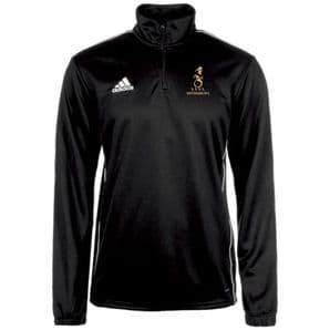 Instonians Rugby Club Adidas Core 18 Quarter Zip Black/White Adults 2019