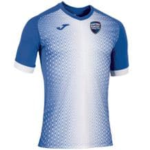 Newtown Forest FC Joma Supernova S/S Shirt Royal/White Adults 2019