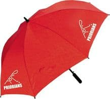 Priorians Hockey Club Red Umbrella -  2018