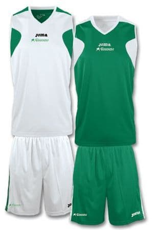Queens Basketball Reversible Kit with Choice of Number on Back - Adults