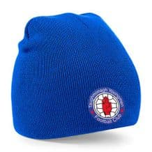 Taughmonagh Young Men FC Beanie Hat - Royal