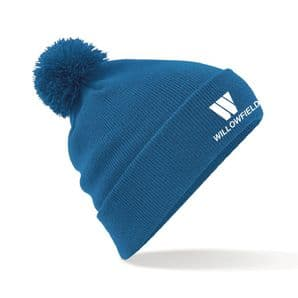 Willowfield Harriers Bobble Hat - Royal