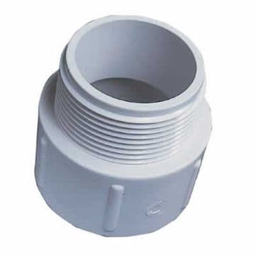 "1.5"" White ABS Socket Nipple"