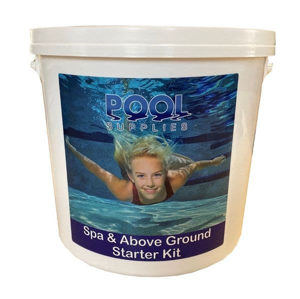 Above Ground Pool & Spa Chemical Starter Kit