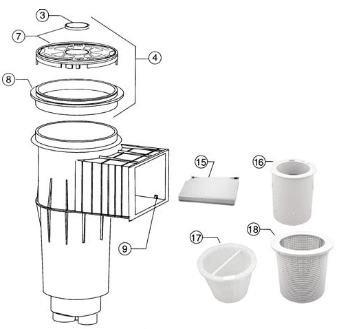 American Products Skimmer Spares