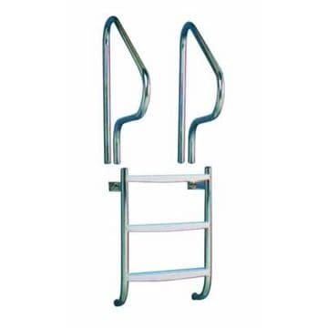 """Certikin 1.5""""/38mm Undercover Ladder with Grabrails - Concrete Pools"""