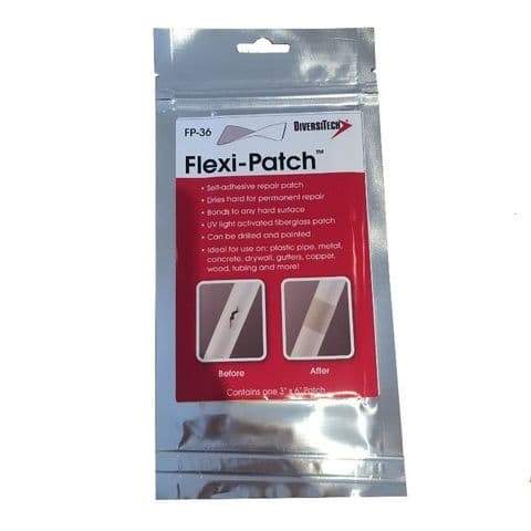 """Flexi-Patch Self Adhesive Repair Patch 3"""" x 6"""""""