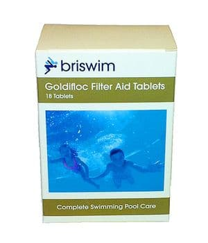 Goldifloc Filter Aid Tablets - Pack of 18