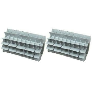 PVC Brushes - Split Roller suitable for the Dolphin Supreme M400 and M500 Robotic Cleaner (SPDT113)