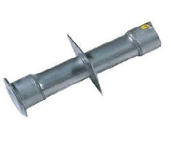 """Stainless Steel Wall Conduit 240mm long - 1.5"""" Thread"""