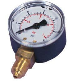 Side Entry Pressure Gauge