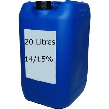 Sodium Hypochlorite (Liquid Chlorine) 14/15% - 20 litres - COLLECT IN STORE ONLY