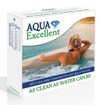 Aqua Excellent Kit - All-In-One Treatment for Spas & Hot Tubs