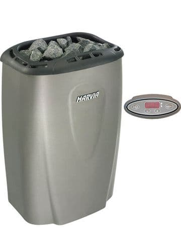 Harvia - Moderna 8kW Heater with Digital Controls