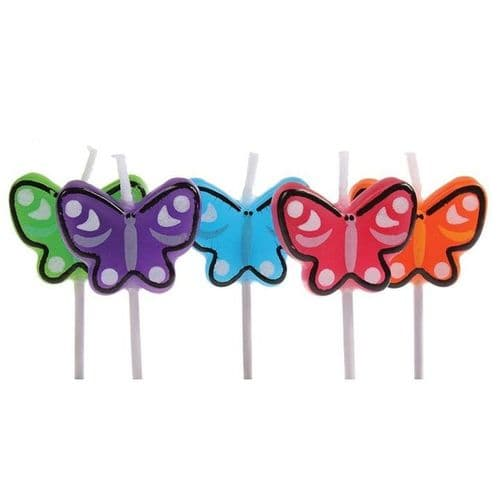 Butterfly Candles - 5 Pack