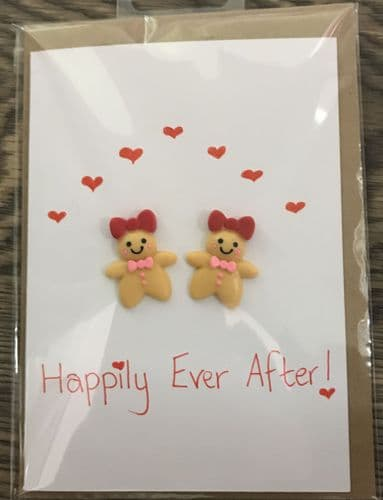 Happily Ever After Gingerbread Mrs & Mrs