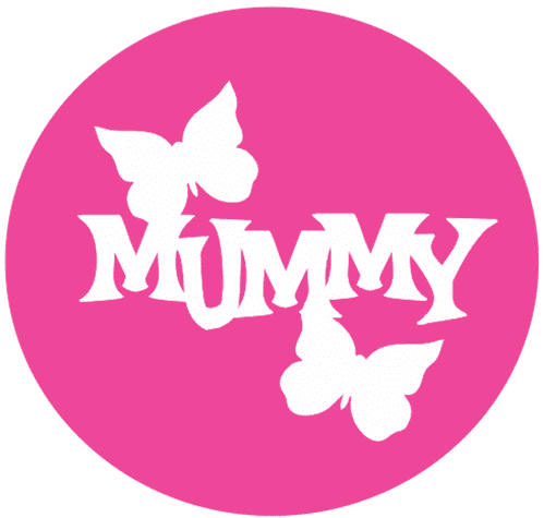 Mummy with Butterflies single stamp