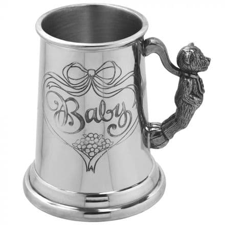 'Baby' Teddy Child's Pewter Cup