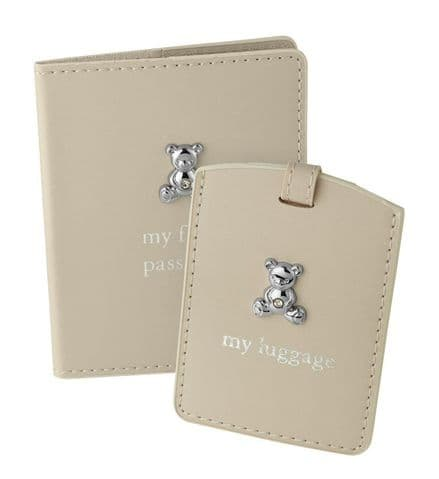 Child's Passport Holder and Luggage Tag
