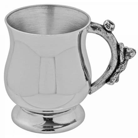 Honey Teddy Child's Pewter Cup