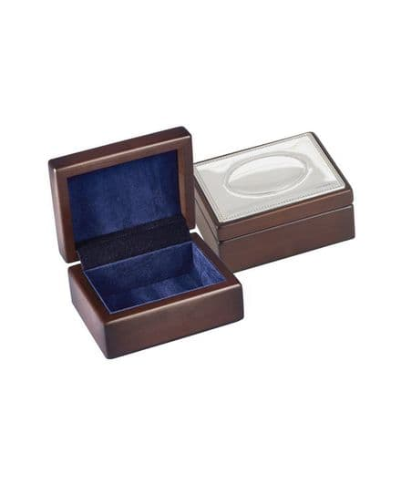 Sterling Silver Lidded Small or Large Trinket Boxes